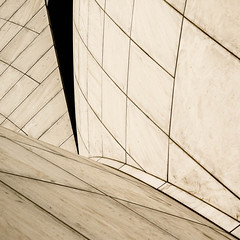 Lotus Temple (morbs06) Tags: india abstract detail monochrome lines architecture square graphic geometry delhi lotustemple
