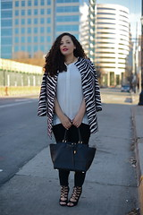 Laced Up (GirlWithCurves) Tags: girl curvy curlyhair plussizefashion plussizeblog taneshaawasthi
