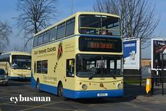 East Yorkshire 200, A16EYC. (EYBusman) Tags: road bus london buses hospital volvo coach yorkshire united transport group east motor alexander hull regional services coaches busways anlaby alx400 transdev b7tl eyms sk52urw a16eyc eybusman