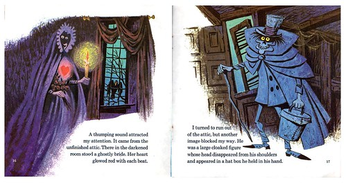 1970 The Haunted Mansion Book 10 The Bride And The Hatbox Ghost