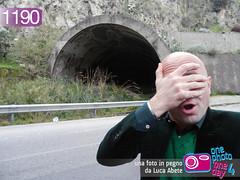 Foto in Pegno n 1190 (Luca Abete ONEphotoONEday) Tags: road street italy black italia gallery hand fear 4 tunnel guardrail scare asfalto marzo calabria galleria catanzaro 2014 paura 1190 degrado batcaverna