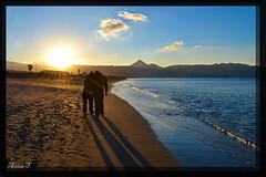. 'Love' (anna topsi) Tags: sunset sea love beach water nikon hellas couples greece crete 1855mm 1855 vr heraklion  kriti     ammoudara   cloudsstormssunsetssunrises d3100