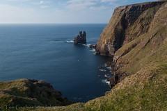 Cliffs and sea stacks at Kearvaig, Cape Wrath (tomgardner) Tags: uk greatbritain sea cliff coast scotland highlands europe european unitedkingdom britain scottish cliffs highland coastal environment british sutherland stacks capewrath