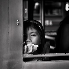 Light (cisco image ) Tags: portrait bw girl canon square eyes occhi