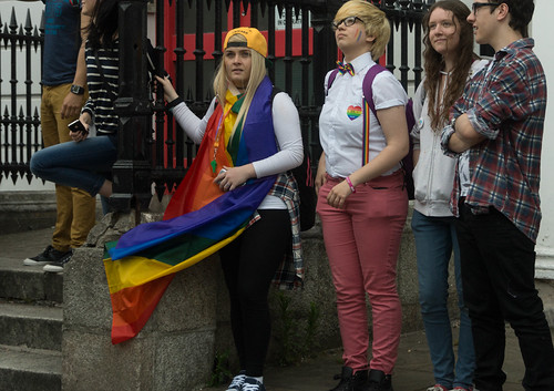 DUBLIN 2015 LGBTQ PRIDE PARADE [WERE YOU THERE] REF-105975