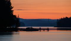 August Sunset (@Tuomo) Tags: sunset lake finland landscape nikon df jyväskylä pf päijänne kärkinen korpilahti 300mm4