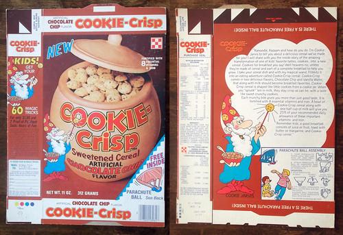 1977 Ralston 1st Cookie-Crisp Cereal Box