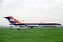 7O-ADA Boeing 727-2N8 Yemenia (pslg05896) Tags: 7oada boeing727 yemenia lgw egkk london gatwick