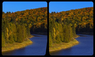 Indian Summer in Ontario 3-D / Stereoscopy / Crossview / HDR / Raw