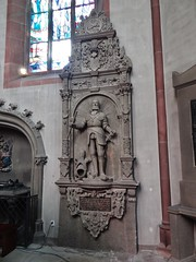 ca. 1575 - 'Markgraf Bernhard III von Baden (+1536)' (Johann von Trarbach), Stiftskirche, Baden-Baden, Baden-Württemberg, Germany (RO EL (Roel Renmans)) Tags: markgraf margrave markgraaf margravio marquis baden bernhard bernard bade 1536 johann von trarbach sponheim katzenelnbogen waffen heraldry stiftskirche badenbaden pfarrkirche church monument effigy epitaph epitaf tomb tumba sepulcro funéraire grafmonument grabmal grabdenkmal armadura armure armor armour rüstung renaissance german badenwürttemberg église kerk iglesia chiesa caballero knight ritter ridder chevalier 1575 1570