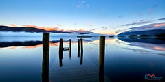 Blue Dawn Derwent Water (Dave Massey Photography) Tags: ashnessjetty calm cumbria dawn derwentwater jetty keswick lakedistrict mist mountains peaceful serene tranquil