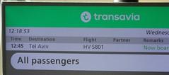 Boarding for Tel Aviv