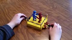Rock 'Em & Sock 'Em! [Video] (NS LEGO Designs) Tags: lego moc build creation contest absbuilderchallenge finale game board rockemsockemrobots ns designs