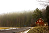 Rölanda (trumanders) Tags: redhouse redcabin woods forest cabininthewoods coldweather swedishwinter sweden dalsland rölanda dalsed ed countryroad countryside swedishcountryside houseandroad roadandhouse roadwithhouse housewithroad smallroad smallhouse housebyaroad housebytheroad gravel foggy foggyday foggyforest treesandfog foggytrees humidy humid