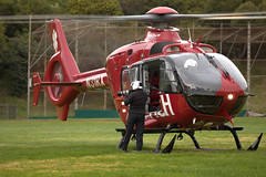 Photo break (lenswrangler) Tags: ems rescue elcerrito cerritovistapark n31rx reach airambulance helicopter lenswrangler digikam eurocopter ec135 p2 photographer canon pilot