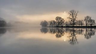 *silent river*