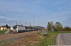 E402B 177 (MattiaDeambrogio) Tags: treno treni train trains e402 e402b 177 astuti torinoalessandria intercity notte icn