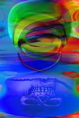 Máscara velada (seguicollar) Tags: imagencreativa photomanipulación art arte artecreativo artedigital virginiaseguí máscara calavera carnaval velada cara faz rostro
