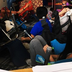 Last day before break mood.. chair forts and slings. (mokonkwo) Tags: last day before break mood chair forts slings