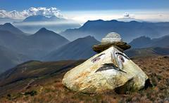 bonjour tristesse (art & mountains) Tags: alpi alps montilariani valrezzo valcavargna confine costone crestone hiking ceresio sanlucio valcolla alpesegur natura silenzio masso sasso scultura caricatura burloni art