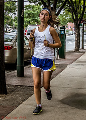 Stressed and Depressed but Well Dressed (ViewFromTheStreet) Tags: 38thstreet allrightsreserved blick blickcalle blickcallevfts calle copyright2017 depressed pennsylvania philadelphia photography sansomstreet stphotographia streetphotography stressed stressedanddepressedbutwelldressed universitycity viewfromthestreet amazing bandana candid classic earbuds female girl runner running shorts sneakers street vftsviewfromthestreet welldressed woman ©blickcallevfts ©copyright2017blickcalle