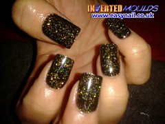 Cheryl Brown Glitter (invertednailsystems) Tags: uk pink orange black art yellow glitter training silver gold amazing neon pretty im nail powder course nails salon technician extension inverted false ims extensions nailart courses moulds enuk invertednailsystems easynail easynailuk