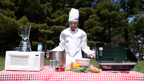 Evil Grin Gift Box Episode 11 - Michaelson's Mouthsome Masterpiece: We're Cooking Outside!