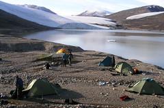 bfn-73 (Paul Nunatak) Tags: canada hiking polarbear nunavut baffinisland clyderiver pondinlet samfordfiord swissbay