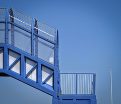 blue bridge (Sooloo) Tags: bridge blue minimal clean purity bulverhythe