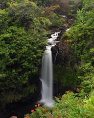 falls 1 (ao3inca) Tags: hawaii nikon waterfalls bigisland nikond700 worldbotanicalgardenswaterfalls