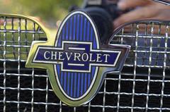 Old Old Badge (earthdog) Tags: chevrolet car word logo nikon chevy badge pleasanton carshow 2013 afsdxvrzoomnikkor1855mmf3556g d5100 nikond5100