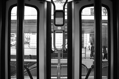 Vienna (Juliet Alpha November) Tags: vienna wien street door city bw white black window austria sterreich jan fenster tram inner stadt sw tr schwarz weis strase innere meifert strasenbahn