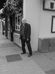DOWN ON THE CORNER (DEGCT) Tags: life street ireland bw pub cigarette candid smoke smoker degct