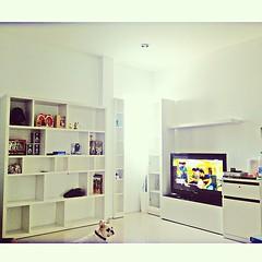 สมบูรณ์แล้วมุมดู TV. บ้านฉาน #มุมโปรด #home #picoftheday  #room