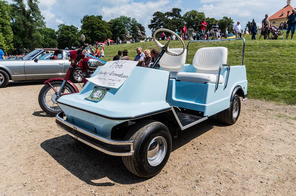 Amf harley davidson golf cart