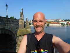 P1080674 (Stefan Peerboom) Tags: gay prague bald praha praga moustache homo stache mustache tache praag snor stefanpeerboom