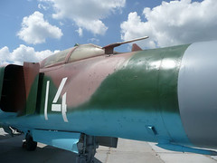 "MiG-23MLD (2) • <a style=""font-size:0.8em;"" href=""http://www.flickr.com/photos/81723459@N04/9296481755/"" target=""_blank"">View on Flickr</a>"
