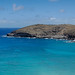 Bay (nosha) Tags: ocean blue sea sky usa green beautiful beauty rock island hawaii oahu shore tropical aloha hawaii2013