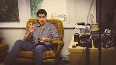 Zain (Sure Photography) Tags: camera boy man guy cool chair room equipment
