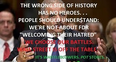 """PASSIVE-COMPULSIVE CRAVEN SLACKERY: WE CHOOSE OUR BATTLES~Wall Street Is Off The Table We're Not About FDR """"Welcoming Their Hatred"""" (Hy Timesine) Tags: wallstreet untouchables banksters occupywallstreet toobigtojail"""