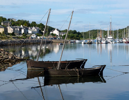 uk greatbritain lumix scotland boat fishing sailing unitedkingdom argyll traditional panasonic gb skiff westcoast herring stockphoto tarbert norse lochfyne bute clinker dooker argyllandbute 2013 nigelbrown iolair dmctz8 tz8 weedooker ringnetting