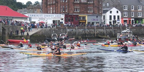 2013 Oban Sea Kayak Race 4