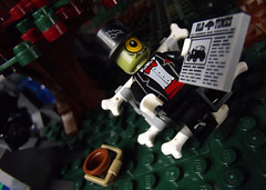 10 (CyberPacket) Tags: wood city house tree chicken water monster forest river skeleton cow town woods cows lego zombie tire cyclops dracula frankenstein freak monsters fighters moc