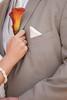 Orange Calla Lily Boutonniere (Soiree Design) Tags: wedding orange groom callalily boutonniere