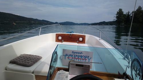 Elektroboot am Wörthersee