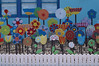 Colourful garden (judith511) Tags: artwork pretty happiness colourful odc paintedflowers gardendisplay