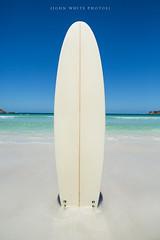 Surfboard (john white photos) Tags: ocean sea nature water coast surf board australian australia surfing coastal surfboard southaustralia eyrepeninsula fisherybay