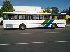 Mercedes Benz O305 1540 (RS 1990) Tags: old blue bus green elizabeth stripes australia retro mercedesbenz restored adelaide tribute 1980s southaustralia sta interchange livery obahn 1540 o305 danielcripps