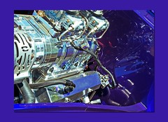 motor in purple