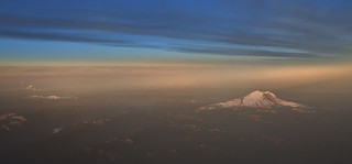 Mount Rainier First Light